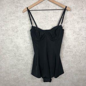 NWT Norma Kamali Underwire Swim Dress Mini